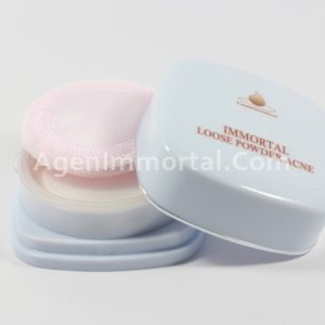 loose powder acne natural immortal