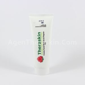 creamy facial wash scrub reguler theraskin