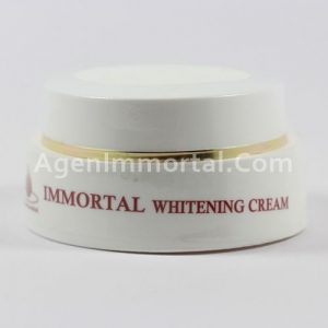 whitening cream immortal
