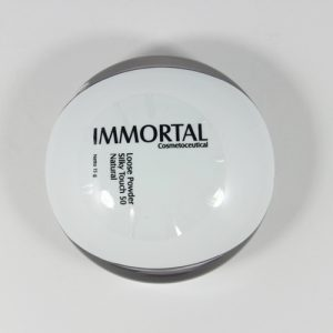 loose powder silky touch natural immortal
