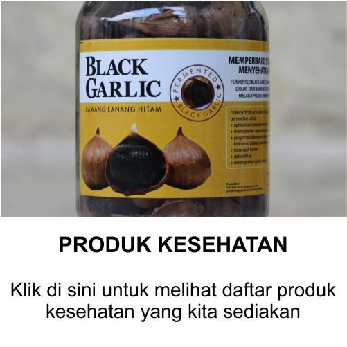 black garlic bawang hitam
